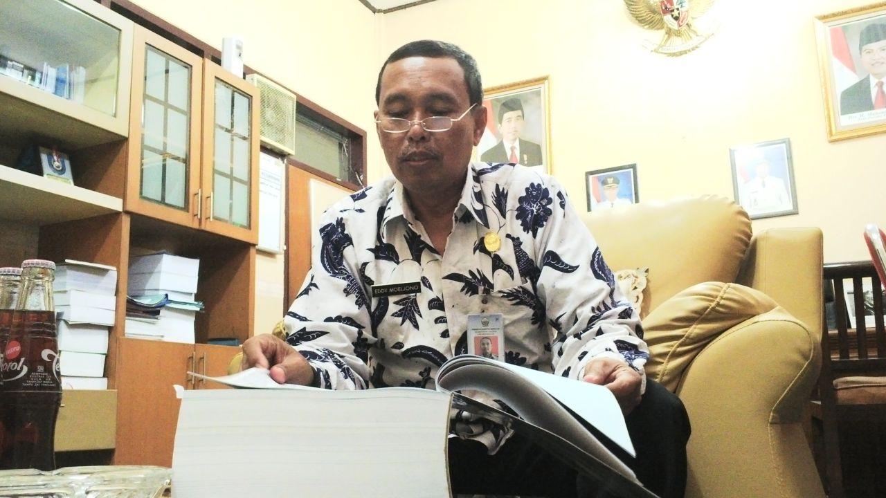 Sekretaris Daerah Kabupaten Bangkalan Eddy Moeljono
