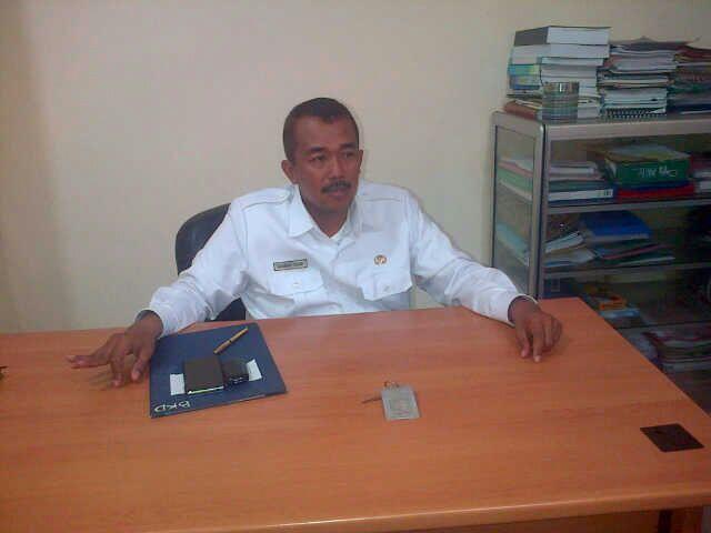 Kabid Pengembangan dan Karir BKD Bangkalan, Ahmad Sidik