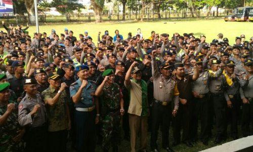 Pembubaran Pasukan Pengamanan Pilkades Bangkalan 2017